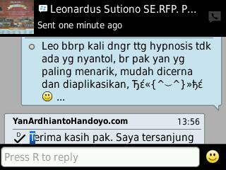 testimony Leonardus