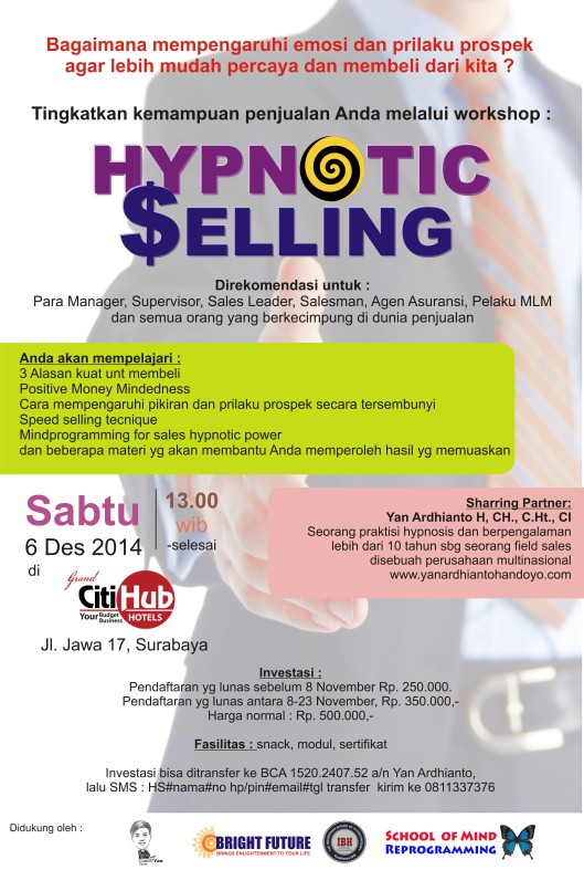 Hypnotic Selling
