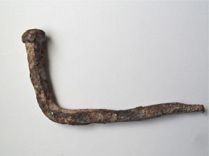 Antique Nail found in Prematura Croatia, Istria